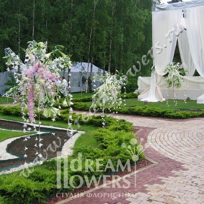 Цветы для церемонии