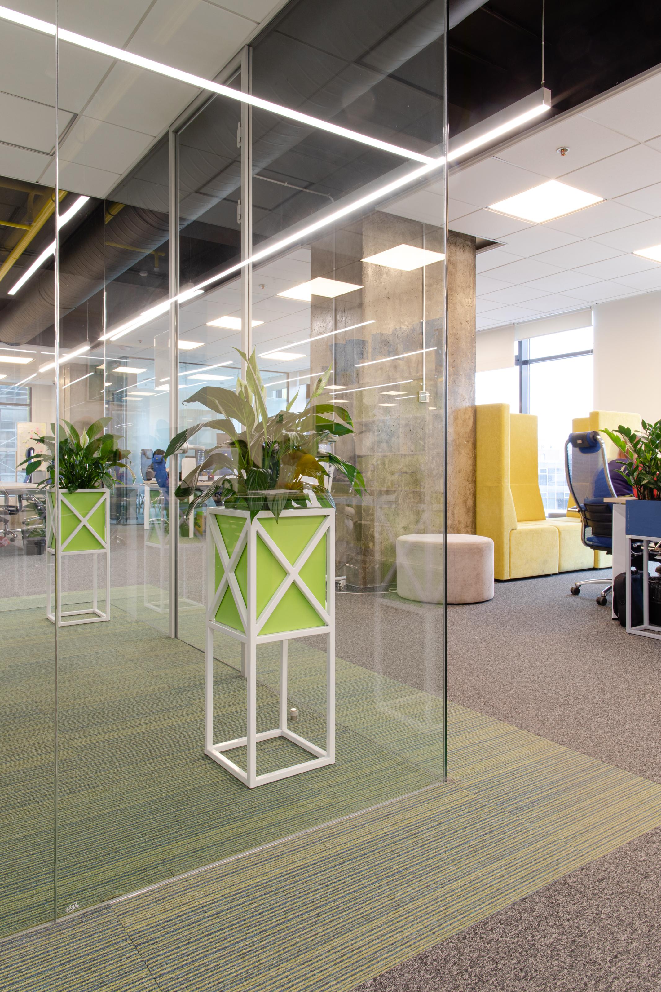 Озеленение офисов, фитодизайн